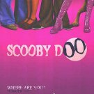 Scooby Doo Advance (Pink) Original Double Sided Movie Poster 27x40