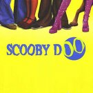 Scooby Doo Advance (Yellow) Original Double Sided Movie Poster 27x40