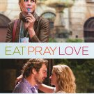 Eat Pray Love International Original Double Sided Movie Poster 27x40