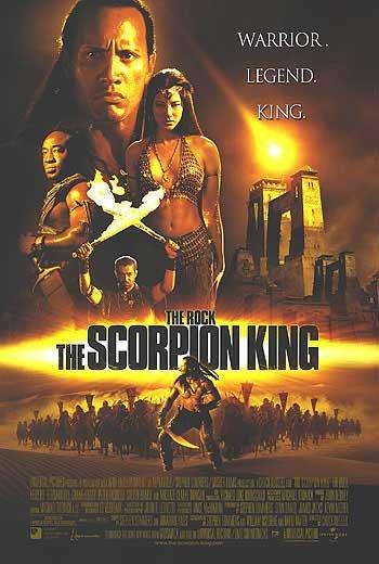 Scorpion King  Regular Original Double Sided Movie Poster 27x40