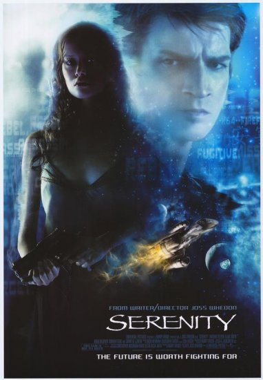 Serenity Regular Original Movie Poster Single Sided 27X40