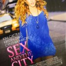 Sex and the City (Blue) Final Original Double Sided Movie Poster 27x40