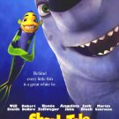 Shark Tale Advance Original Movie Poster Double Sided 27x40