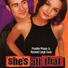 She's All That Original Movie Poster Single Sided 27x40