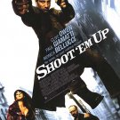 "Shoot ""Em Up Final Original Movie Poster Double Sided 27x40"