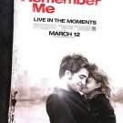 Remember Me  Original Movie Poster  Single Sided 27 X40