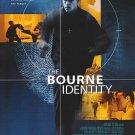 Bourne Identity Original Movie Poster Double Sided 27x40