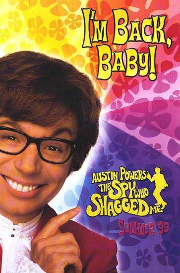 Austin Powers The Spy Who Shagged Me Version A Original Single Sided Movie Poster 27x40