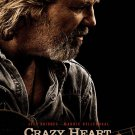 Crazy Heart Original Double Sided Movie Poster 27x40
