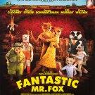 Fantastic Mr Fox Final  Original Movie Poster  Single Sided 27 X40