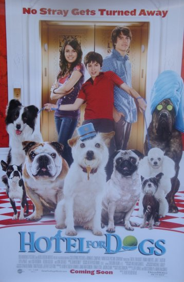HOTEL FOR DOGS Movie Poster  27 X40 DBL SIDED