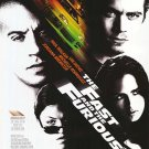 Fast and the Furious Original Movie Poster Single Sided 27x40