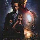 Iron Man International Double Sided Original Movie Poster 27x40