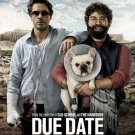 Due Date Advance Double Sided Original Movie Poster 27x40