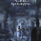 Resident Evil Apocalypse Advance Original Movie Poster  Double Sided 27 X40