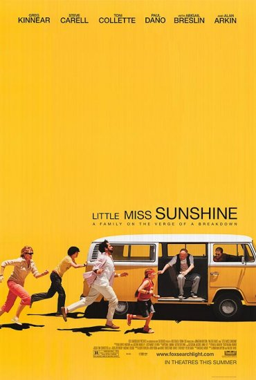 Little Miss Sunshine Regular Movie Poster Double Sided Original 27 X40