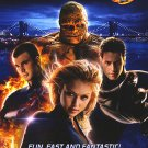 Fantastic Four Dvd Poster Single Sided Movie Poster Original 27x40