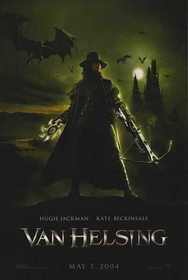 Van Helsing Advance Original Movie Poster  27X40 Double Sided