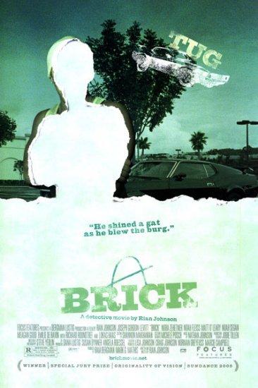 Brick (Tug) Movie Poster Original Movie Poster Double Sided 27x40