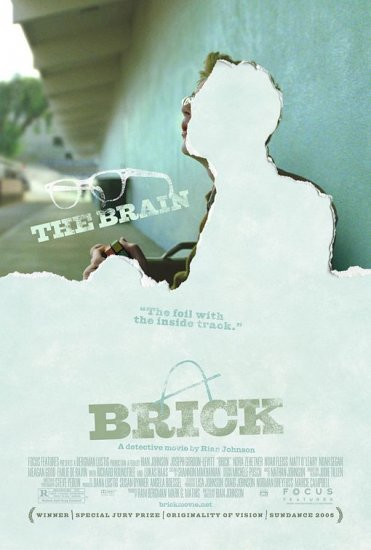 Brick (Brain) Movie Poster Original Movie Poster Double Sided 27x40