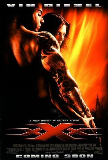 XXX International Movie Poster Original Double Sided 27X40