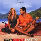 50 First Dates Regular Original Movie Poster Double Sided 27X40