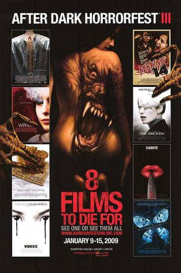 8 Films to Die For Original Movie Poster Double Sided 27X40