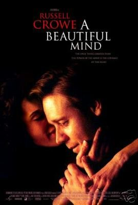 A Beautiful Mind Original Movie Poster 27 X40 Double Sided
