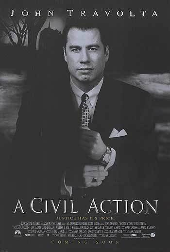 A Civil Actiom Original Movie Poster 27 X40 Double Sided
