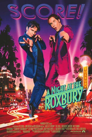 A Night at the Roxbury Original Movie Poster 27 X40 Double Sided