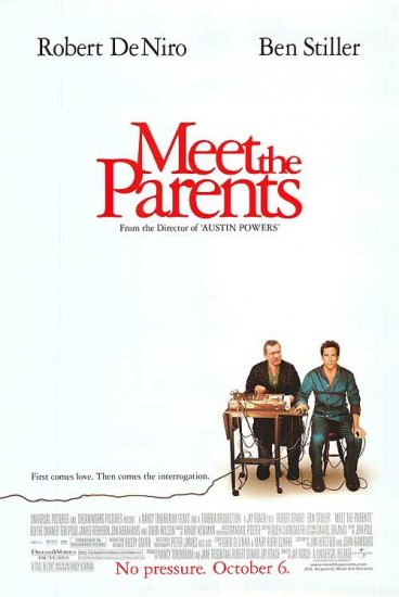 Meet the Parents Regular Original Movie Poster 27 X40 Double Sid