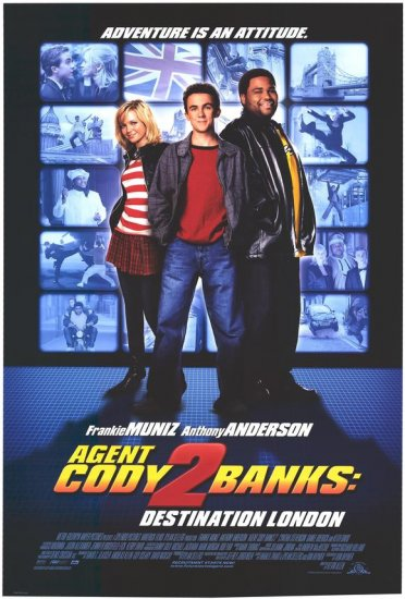 Agent Cody Banks 2 Original Movie Poster 27 X40 Double Sided