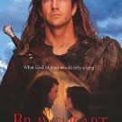 Braveheart Ver B Original Movie Poster Double Sided 27x40