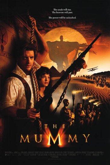 Mummy 1999 International Original Movie Poster Double Sided 27x40