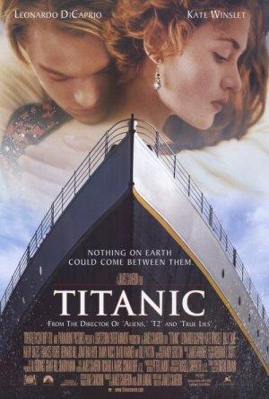 Titanic Version A Movie Poster Single Sided Original 27x40