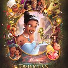 Princess and the Frog (With Signatures)  Original Movie Poster  Double Sided 27 X40