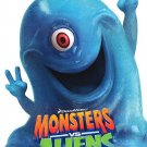 Monsters Vs Aliens Version B Original Movie Poster  Double Sided 27 X40