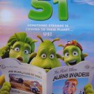 Planet 51 Regular  Original Movie Poster  Double Sided 27 X40
