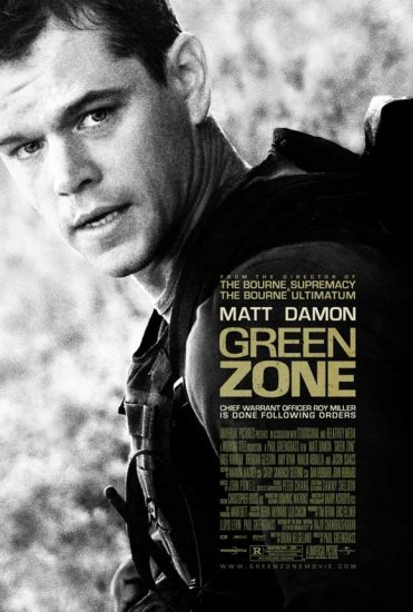 Green Zone Original Movie Poster  Double Sided 27 X40
