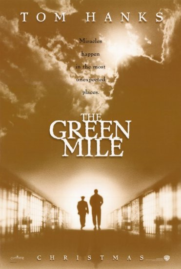 Green Mile Original Movie Poster  Double Sided 27 X40