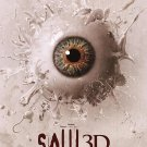 Saw 3D Eye Popping Advance Original Movie Poster  Double Sided 27 X40