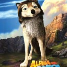 Alpha and Omega Pack Man Original Movie Poster Double Sided 27x40