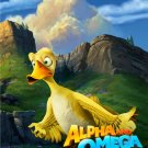 Alpha and Omega He'll Quack You UpOriginal Movie Poster Double Sided 27x40