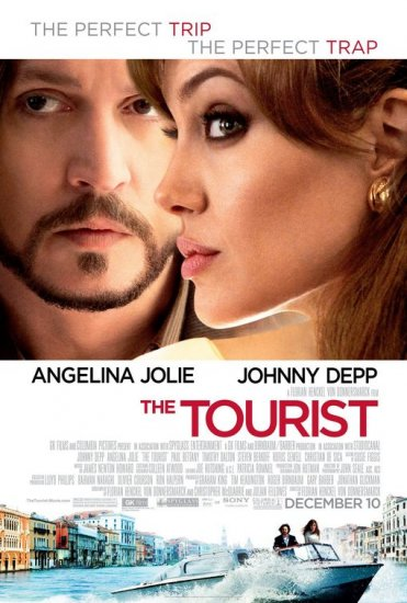 Tourist Version B Original Movie Poster  Double Sided 27 X40