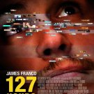 127 Hours Regular Original Movie Poster  Doublele Sided 27 X40