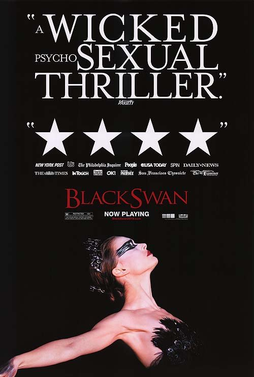 Black Swan Version B Original Theatrical Movie Poster  Double Sided 27 X40