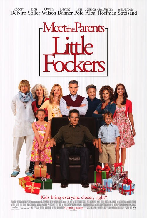 Little Fockers Reg Original Theatrical Movie Poster  Double Sided 27 X40