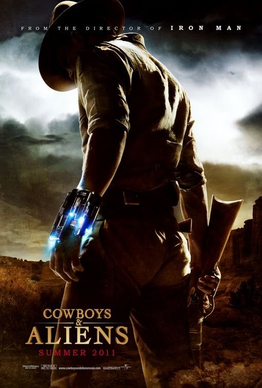Cowboys & Aliens Advance A Original Theatrical Movie Poster  Double Sided 27 X40