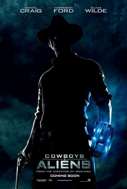 Cowboys & Aliens Advance B Original Theatrical Movie Poster  Double Sided 27 X40