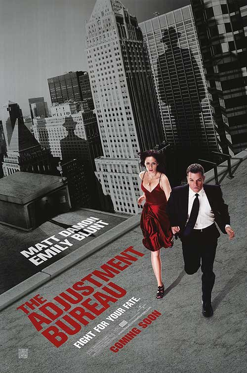Adjustment Bureau Original Theatrical Movie Poster  Double Sided 27 X40